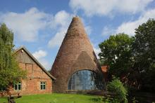Glasturm des Westfälischen Industriemuseums - Glashütte Gernheim. Bild von M. Holtappels/LWL-Industriemuseum