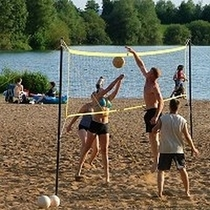 Frank Krause Fotodesign - Beachvolleyball am Badesee