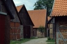 Scheunenviertel in Schlüsselburg